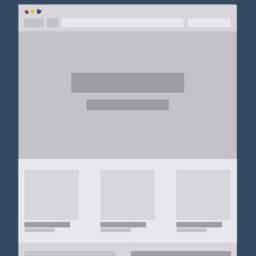 One page weboldal
